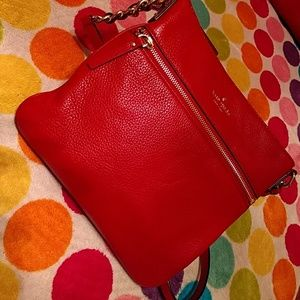 Authentic NWOT Leather Kate Spade crossbody bag